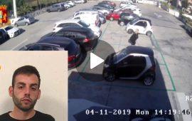 Massimo Saba arrestato per aver messo a segno quattro rapine