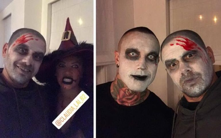 Nainggolan versione horror per Halloween