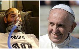 Papa Francesco scrive a Paolo Palumbo
