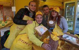 Il pecorino di Osilo e il Pane Carasau di grano Cappelli di Genuri sono stati esposti tra le eccellenze agroalimentari di Coldiretti a Matera