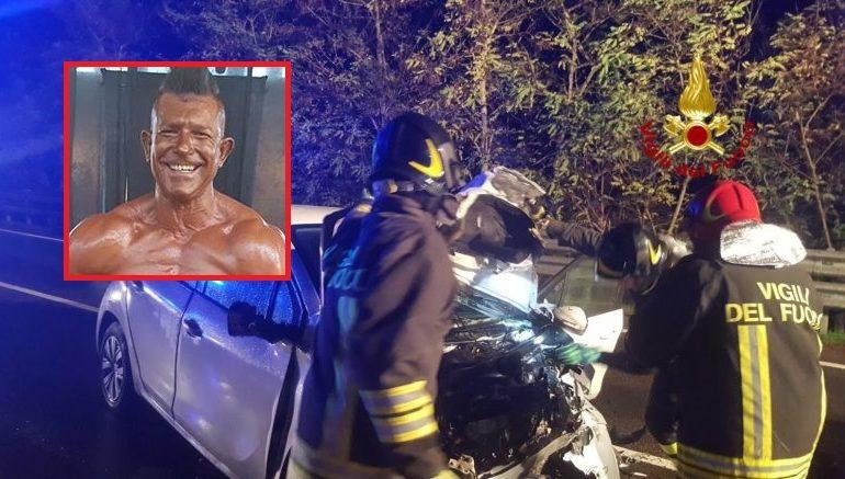 Incidente mortale a Perfugas: perde la vita il noto bodybuilder sardo Manuel Accorrà