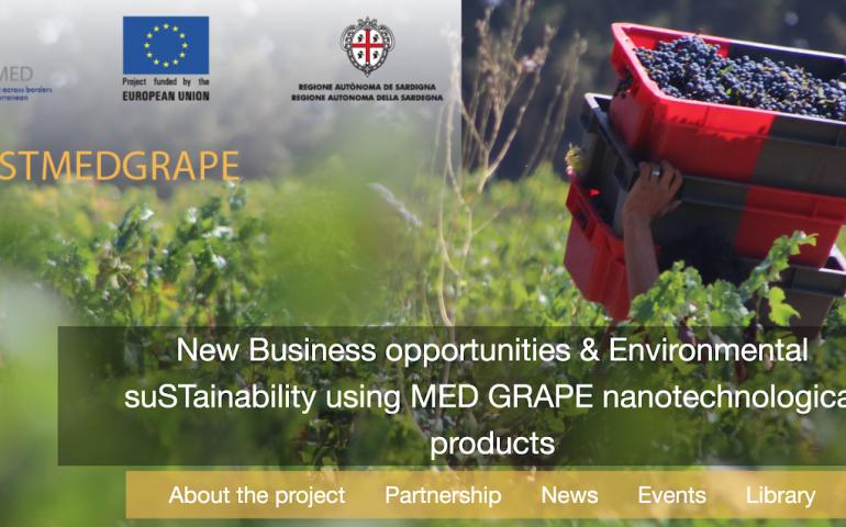 Un progetto dell'Università di Cagliari per riutilizzare gli scarti della lavorazione dell'uva