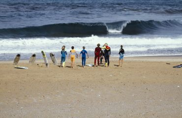 Surfista a Buggerru