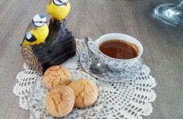 """Caffè de mendula preparato al bar """"Su Nistru"""" di Mamoiada"""