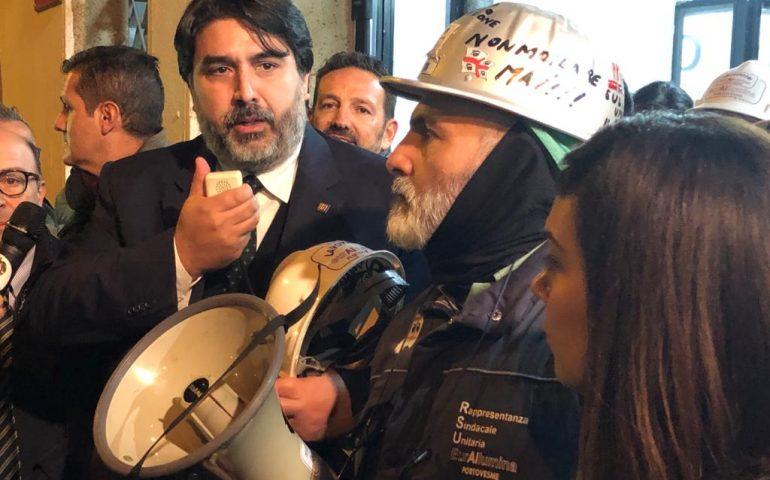 """Eurallumina, arriva l'ok della Giunta per la ripresa produttiva. Solinas: """"Nuova fase politica industriale"""""""