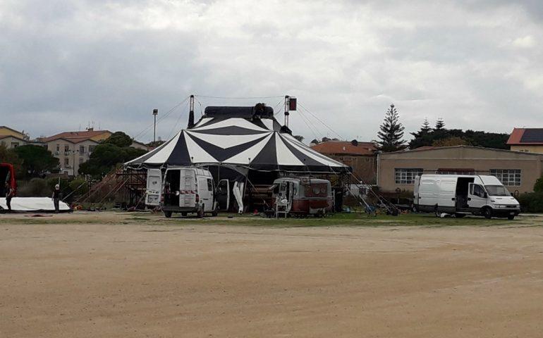 Cagliari: un nuovo circo è arrivato in città e non ha gli animali, ma tanto spettacolo da offrire