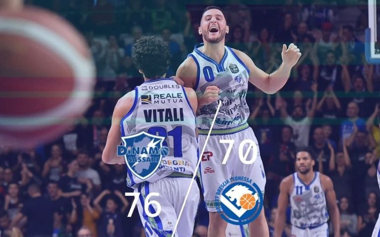 Dinamo batte Brescia Leonessa 76/70: terzo quarto da brivido