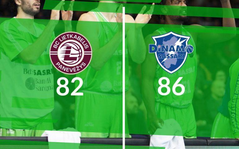 La Dinamo va forte in Coppa, battuto il Lietkabelis 86-82