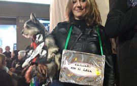 (Video) Sardine a Cagliari da tutta la Sardegna: «Stanchi del linguaggio di Salvini»