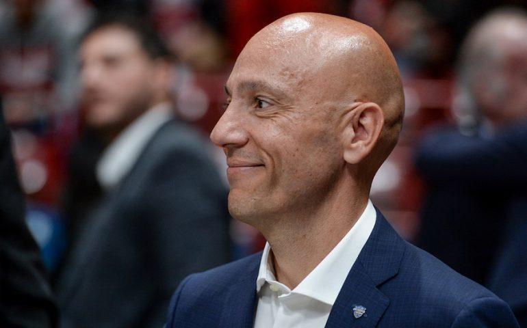 """Dinamo, annuncio 'choc' di Sardara: """"Inizia il mio ultimo anno da presidente"""""""