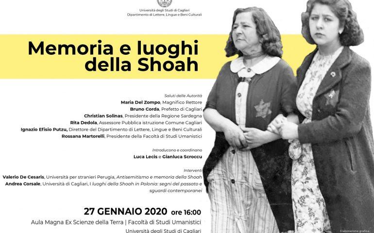 Giornata della Memoria: tutti gli appuntamenti dell'Università di Cagliari