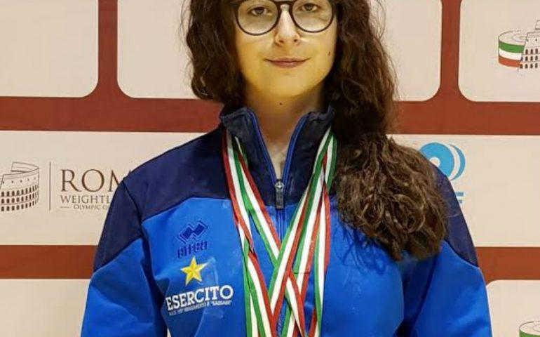 Pesi, l'atleta sarda Anna Tilocca è campionessa Italiana