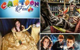 """""""Cartoon Fest"""": alla Fiera di Cagliari appuntamento per gli amanti dei cartoni animati e del mondo fantasy"""