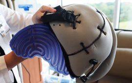 casco refrigerante per chemio