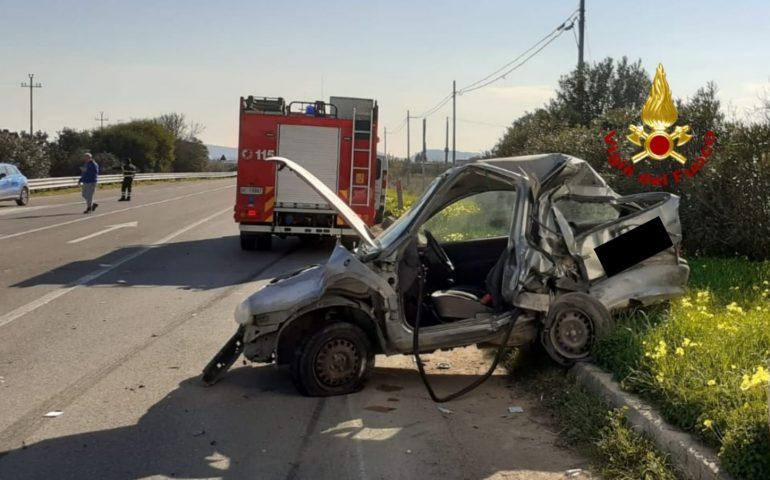 Monserrato, terribile incidente sulla 387: 37enne trasportato in gravi condizioni al Brotzu