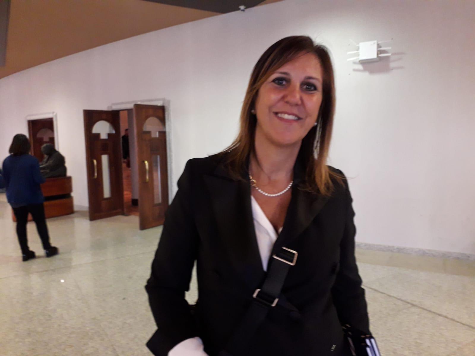 L'assessora Alessandra Zedda all'International Job Meeting Day