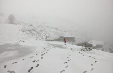 Neve al Bruncu Spina (Fonni) - Foto di Matteo Piras