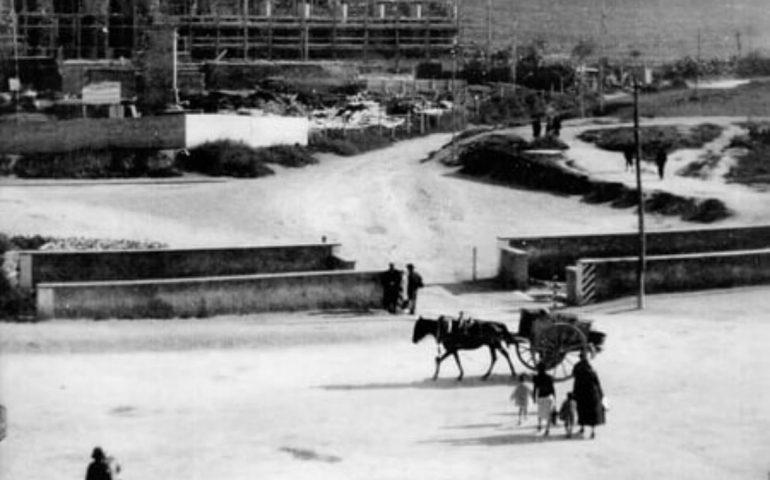 La Cagliari che non c'è più: il Palazzo di Giustizia in costruzione nel 1934