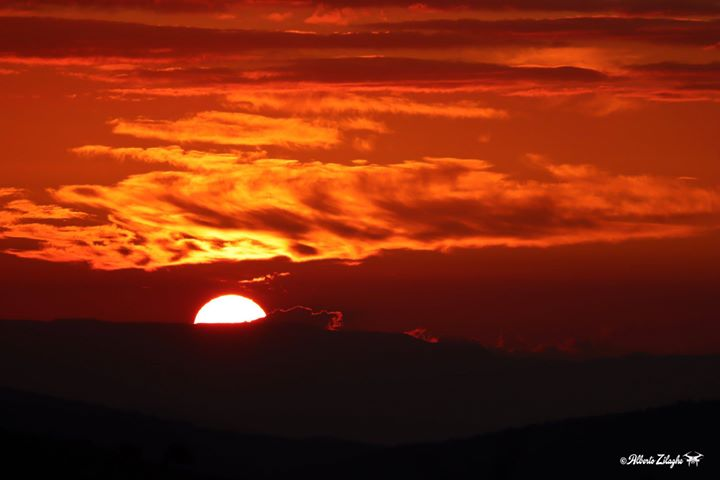 tramonto gennargentu