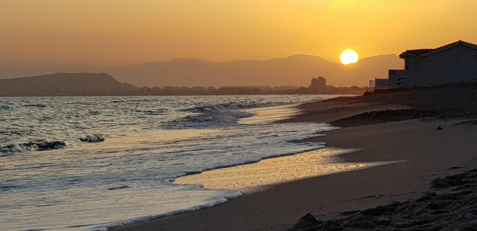 tramonto al poetto