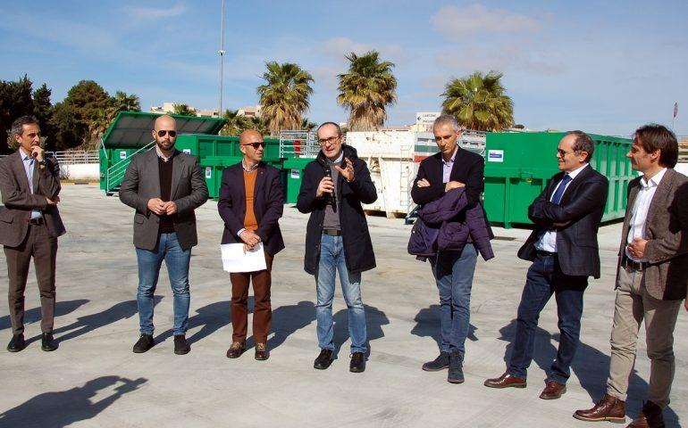 Cagliari, inaugurato l'ecocentro a Sant'Elia   Cagliari   Vistanet