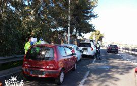 Cagliari, tamponamento a catena in via Mercalli: tre auto coinvolte, due donne ferite