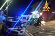 Olbia, schianto tra due auto all'alba: due persone ferite e trasportate al pronto soccorso