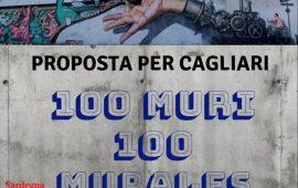 Cento murales in 100 muri di Cagliari: appello agli artisti sardi per colorare la città