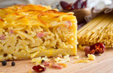 La ricetta Vistanet di Oggi: frittata di pasta, un modo squisito di usare gli avanzi