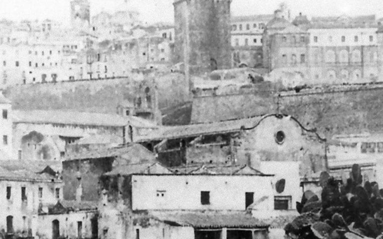 La Cagliari che non c'è più: l'antica chiesa di San Nicolò dei Napoletani, demolita nel 1869