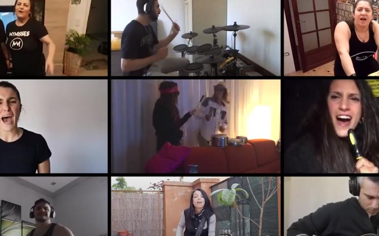 "(VIDEO) Mymisses & Friends in Quarantine: la band hard rock cagliaritana in un community video, ""Hard To Leave"""