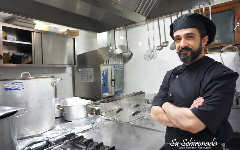 Da Sa Schironada lo chef Giampaolo Casu, in cucina l'equilibrio dei sapori
