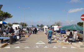 Domenica gioca il Cagliari: sospeso il mercatino domenicale a Sant'Elia