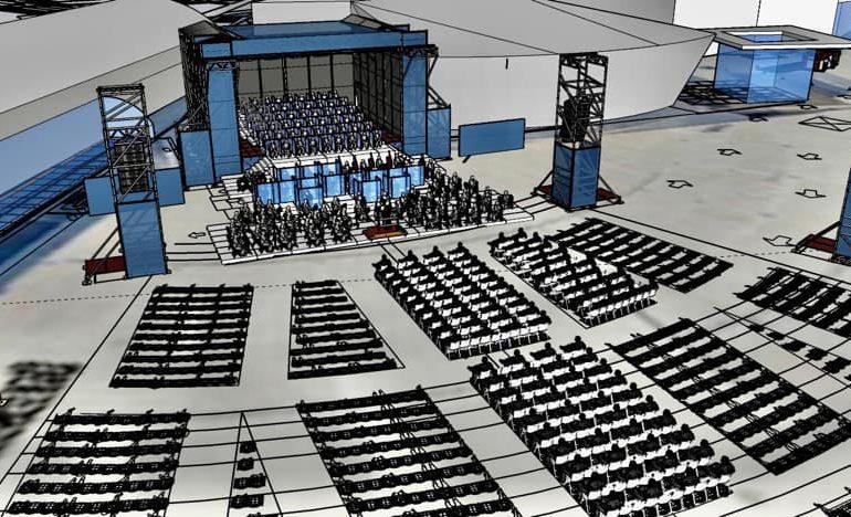 Cagliari, piazza Nazzari rinasce: da luglio un 'teatro' all'aperto per i concerti del Lirico