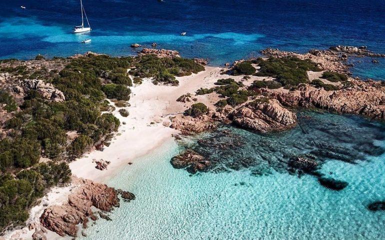 La foto. L'isola sarda più esclusiva nella foto mozzafiato di una nostra lettrice