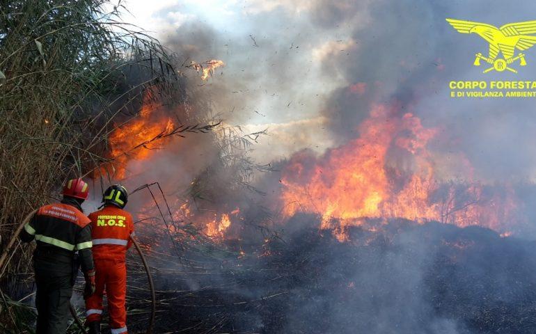 Aveva appiccato 9 incendi: arrestato piromane seriale a Sinnai