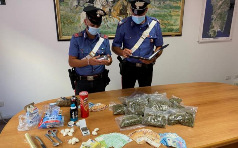 Olbia: droga nascosta nei posti più impensati ma i Carabinieri la trovano, in manette un 25enne