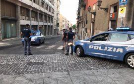 aggressione-via-sassari-corso-vittorio-emanuele-polizia-cagliari