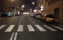 via-della-pineta-cagliari-notte