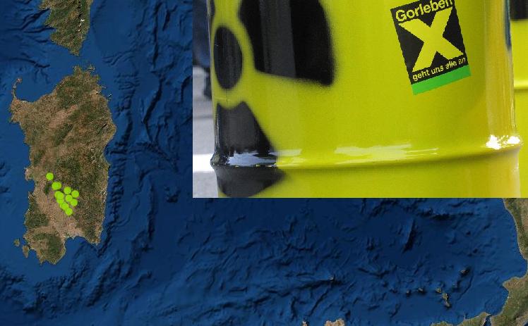 Cartina Sardegna Nurri.Scorie Nucleari La Sardegna E Tra Le Aree Idonee Cagliari Vistanet