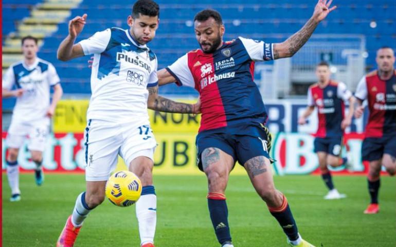 Magia di Muriel al 90′, i rossoblù ancora sconfitti: Cagliari – Atalanta finisce 0-1