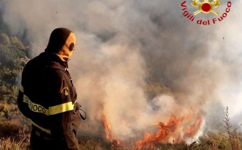 Anche oggi rischio incendi elevato nel Cagliaritano