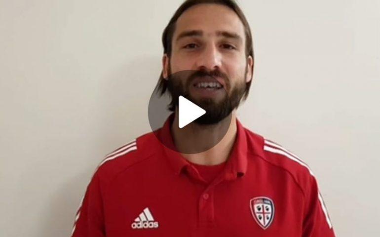 """(VIDEO) Sardi e Sicuri a Cagliari, l'appello di Pavoletti: """"Tutti a fare il tampone"""""""
