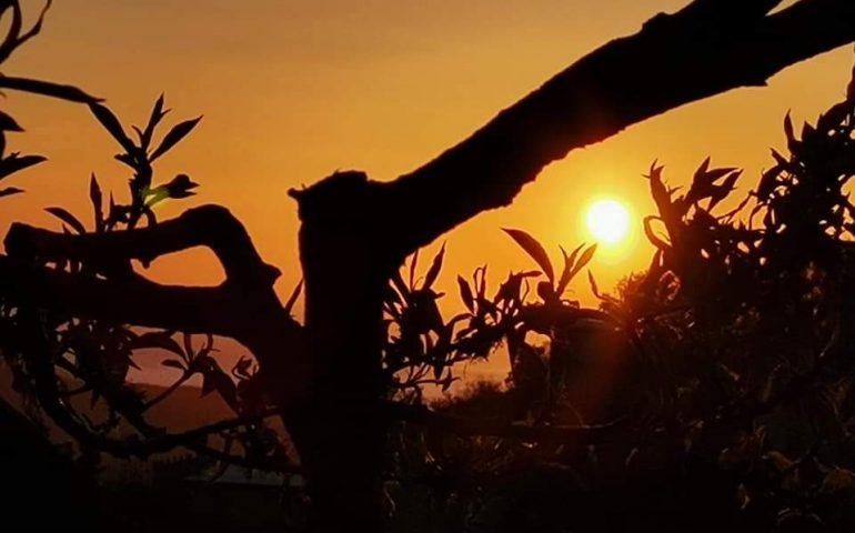 La foto. Il sole regala un vero spettacolo in Ogliastra