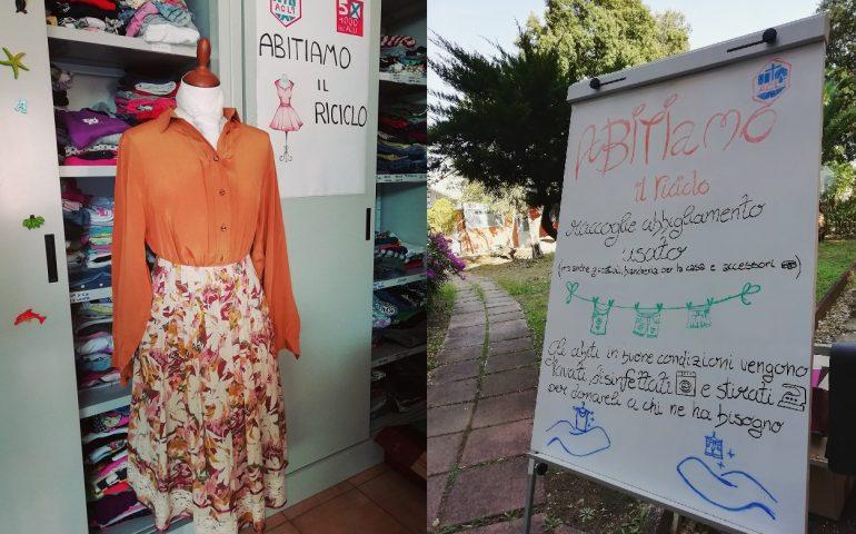 """Furti in sede: sospeso il servizio di raccolta e ridistribuzione degli abiti usati """"Abitiamo il riciclo"""""""