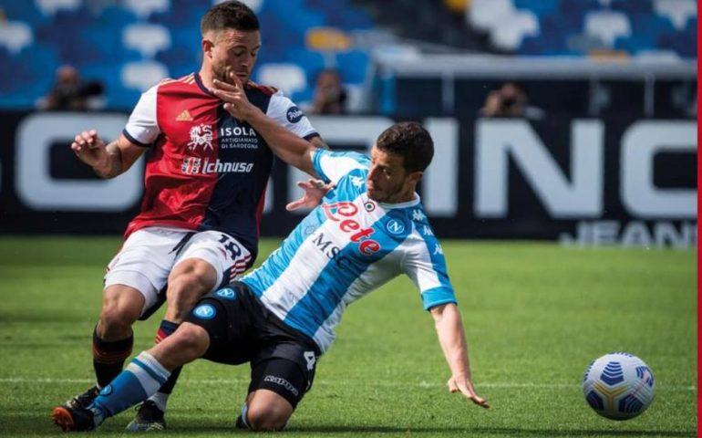 Un punto che vale oro: i rossoblù pareggiano con il Napoli allo stadio Maradona