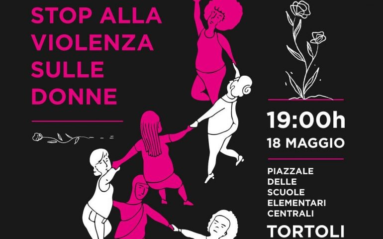 """A Tortolì la manifestazione """"Stop violenza sulle donne"""" in nome di Paola Piras e Mirko Farci"""