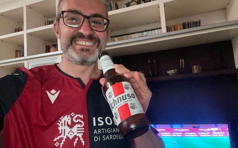 """Anche Truzzu festeggia la salvezza rossoblù: """"Un brindisi al Cagliari e un saluto a Mastella"""""""