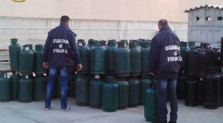 Sequestrate in Sardegna più di cento bombole GPL non a norma a elevato rischio: due denunciati