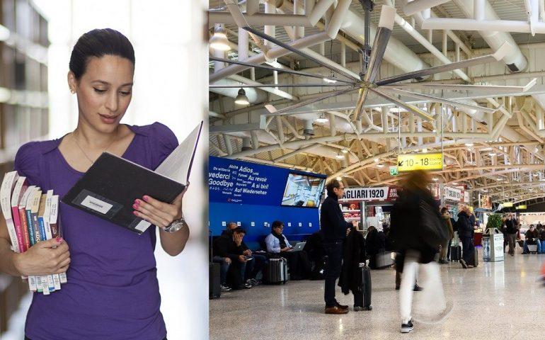 Una biblioteca all'Aeroporto di Cagliari: è la prima in Italia